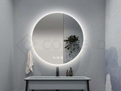 Why choose a LED bathroom mirror